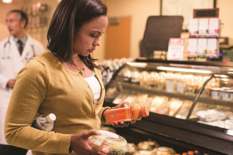 New survey from the American Heart Association and Aramark highlights employed Americans' desire to eat more healthfully and reveals impact of workplace environment on nutrition choices. (Photo: Business Wire)