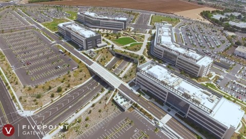 City of Hope Orange County Cancer Campus Located at FivePoint Gateway in Irvine, California (Photo: Business Wire)