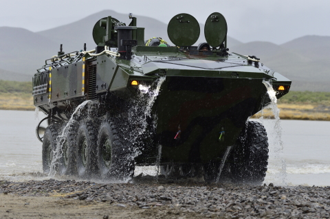The U.S. Marine Corps and BAE Systems are in the low-rate initial production phase of the Amphibious Combat Vehicle program and are developing new variants. (Photo: BAE Systems, Inc.)