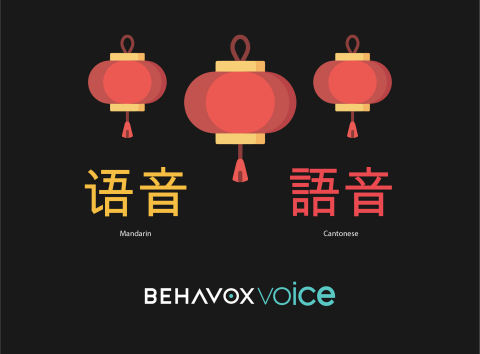 """Behavox Announces the Launch of Voice Biometrics and Its Newest Language Functionalities Within """"Behavox Voice"""": Mandarin and Cantonese (Graphic: Business Wire)"""