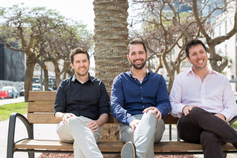 l. to r. Vulcan Cyber Co-founders: Roy Horev, CTO; Yaniv Bar-Dayan, CEO; Tal Morgenstern, Chief Product Officer (Photo: Business Wire)