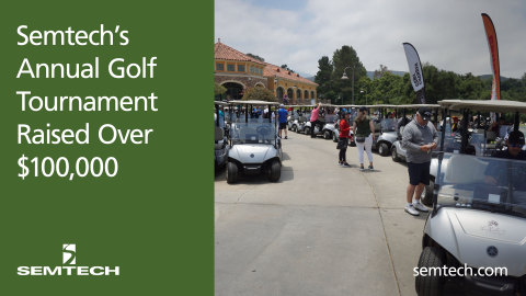 Semtech Golf Charity Tournament (Graphic: Business Wire)