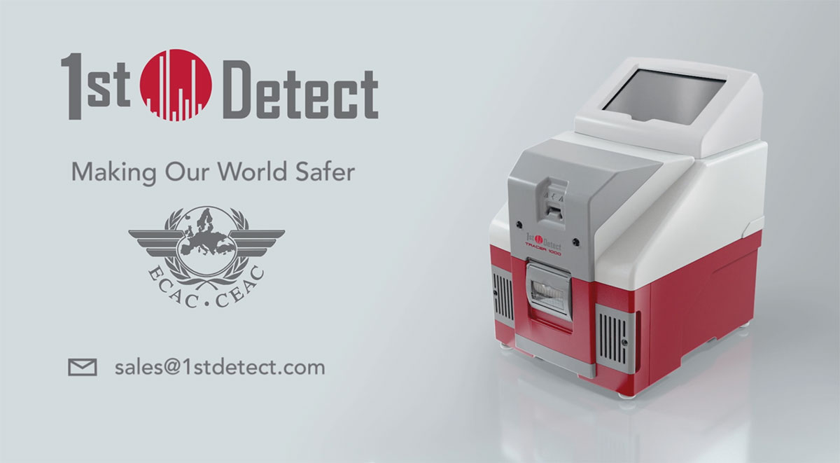 1st Detect Launches the Tracer 1000™ – the First Mass Spectrometer Explosives Trace Detector