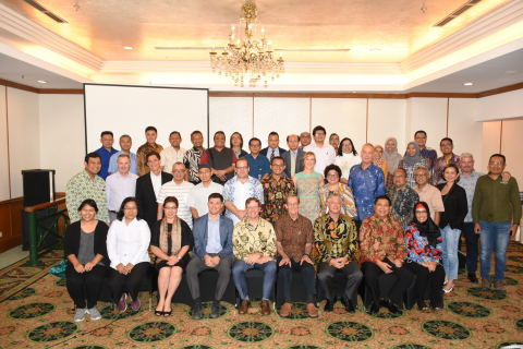 Anova recognized partners during a luncheon in Jakarta, Indonesia on June 18, including members from Masyarakat Dan Perikanan Indonesia, Harta Samudra, Anova Indonesia, Ministry of Maritime Affairs and Fisheries, U.S. Agency for International Development and a number of international NGOs. (Photo: Business Wire)