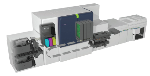 Xerox designed the Baltoro™ HF Inkjet Press from frame to engine to deliver the industry's only entry-level cut-sheet press utilizing automated intelligence and true HD image quality. (Photo: Business Wire)