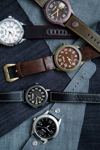 The Wrangler Watches collection features 65 different models and 20 different series for men and women. (Photo: Business Wire)