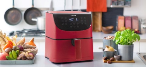 New Release! The First Red COSORI Air Fryer (Photo: Business Wire)