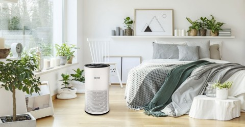 Third-generation Levoit LV-H133 Tower True HEPA Air Purifier (Photo: Business Wire)