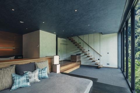 HOSHINOYA Guguan Guest Room Shui (Photo: Hoshino Resorts)