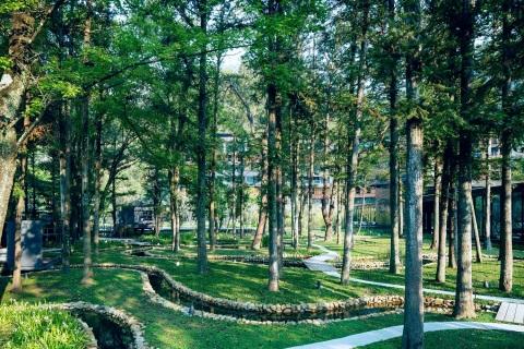 HOSHINOYA Guguan Water Garden (Photo: Hoshino Resorts)