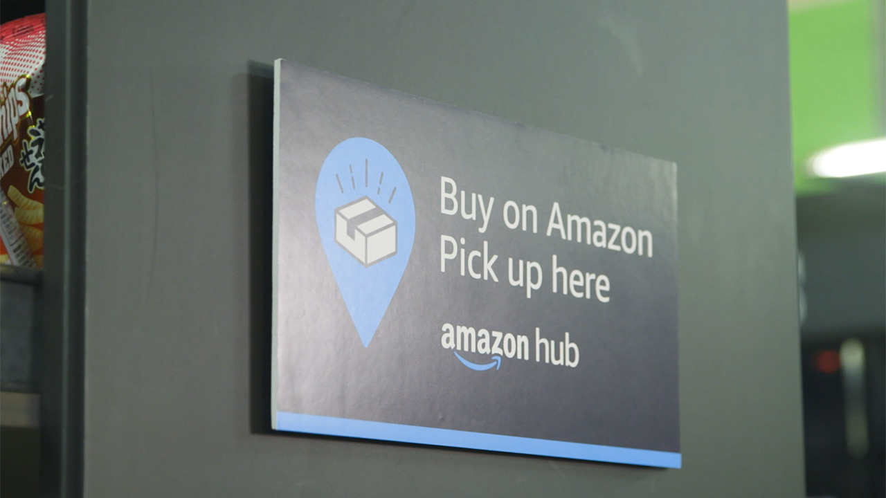 Amazon Hub Counter launches in the U.S. giving customers another quick and easy way to pick up Amazon packages