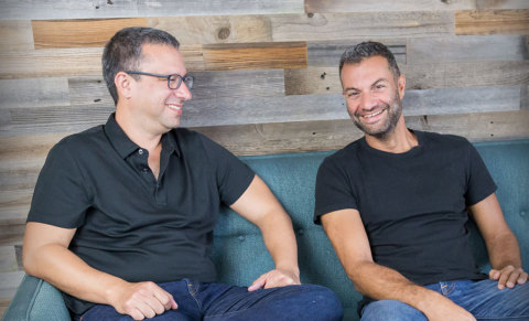 TripActions Co-Founders Ariel Cohen & Ilan Twig (Photo: Business Wire)
