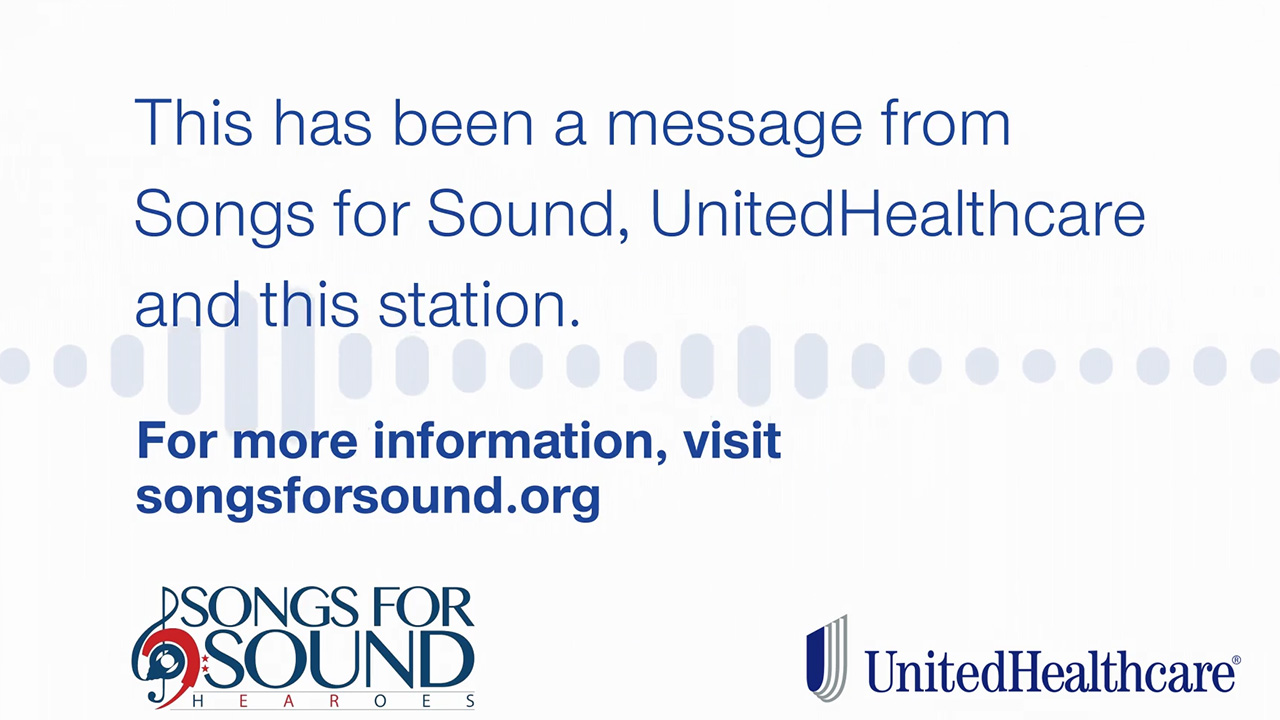 UnitedHealthcare and Songs for Sound – a national nonprofit dedicated to improving access to hearing health – are sharing TV and radio public service announcements (PSAs) with stations across the country, helping people understand the connection between noise exposure and hearing loss (Source: UnitedHealthcare).