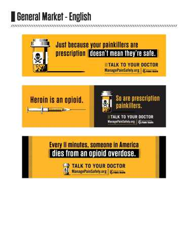 Manage Pain Safely campaign launched in Los Angeles County to prevent opioid deaths, addiction (Graphic: Business Wire)