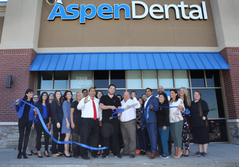 """To commemorate the Modesto, CA opening, a """"floss cutting"""" ceremony was held June 26 for media and community stakeholders to attend. (Photo: Business Wire)"""
