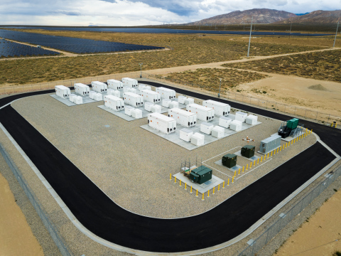 Commencing commercial operation in 2018, LADWP's 20 MW Beacon BESS is handling the harsh climate of the Mojave Desert while increasing utilization of solar PV. Their EPC partner, Doosan GridTech, also provided the installation's engineering design and systems integration. (Photo: Los Angeles Department of Water and Power)