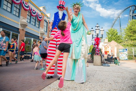 Celebrate Independence Day at the Coca-Cola July 4th Fest at Six Flags Parks, July 3-6. (Photo: Business Wire)