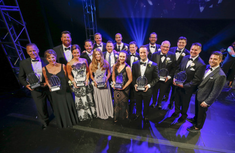 EY is pleased to announce 14 winners of the Entrepreneur Of The Year® Award in the Heartland, representing nine companies. (Photo: Business Wire)