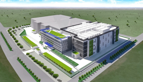 """Exterior image of """"Indonesia Jakarta 3 data center"""" (Graphic: Business Wire)"""
