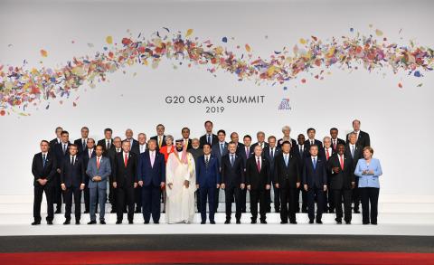 G20 Osaka Summit Family Photo (Photo: Business Wire)