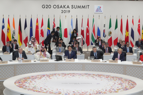 G20 Osaka Summit Working Lunch (Photo: Business Wire)