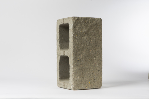 Solidia Concrete CO2-cured block (Photo: Business Wire)
