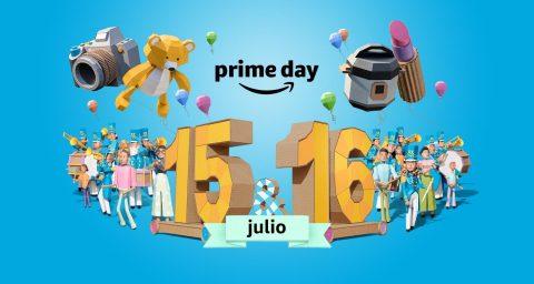 Prime Day será la celebración más grande de ofertas con más de un millón de ofertas a nivel global el 15 y 16 de julio. (Graphic: Business Wire)