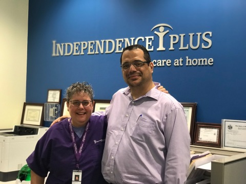 Independence Plus, Inc.'s Founder and Chairman, Board of Directors, Tamara M. Müller and Danilo Coité, MD, CEO and President (Photo: Business Wire)
