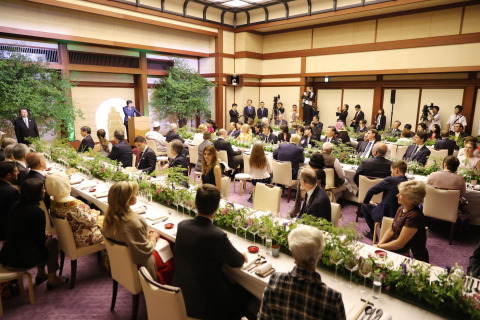 G20 Osaka Summit Leaders' Dinner (Photo: Business Wire)