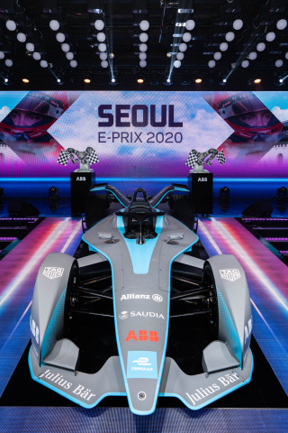 ABB Formula E Gen2 car at Seoul E-Prix 2020 (Photo: Business Wire)