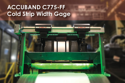 KELK Accuband Strip Width Gage C775-FF (Photo: Business Wire)
