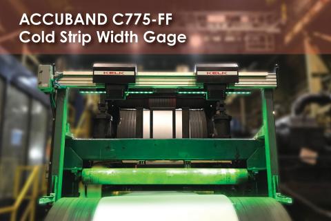 KELK Accuband Strip Width Gage C775-FF (Photo: Business Wire)