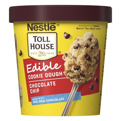 NESTLÉ® TOLL HOUSE® announces the release of Edible Cookie Dough. (Photo: Business Wire)