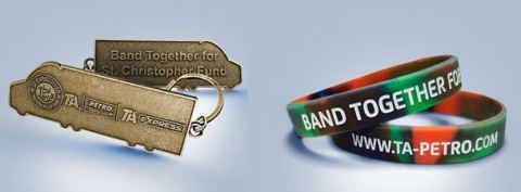 Band Together for SCF campaign wristbands and yeychain (Photo: Business Wire)