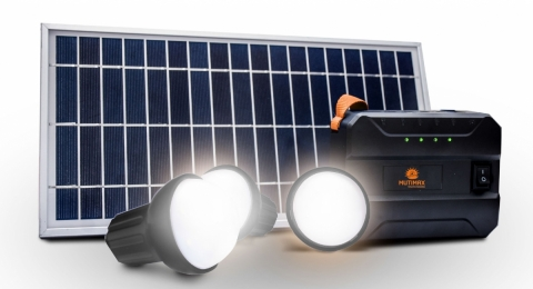 Mutimax Solar Home System (Graphic: Business Wire)