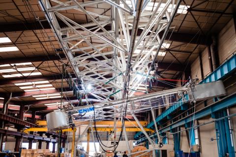 Full-scale nacelle mock-up (Photo: CNIM)