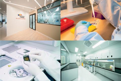新實驗室配備雙NGS技術平台,是行動基因在亞洲的第三個實驗室,具有令速度(迅速完成臨床報告)及產能(高檢體數量或測序深度作研究用途)均達極佳水平的能力。 (照片:美國商業資訊)