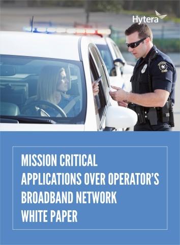 Le livre blanc des applications à mission critique sur le réseau de l'opérateur à large bande (Photo: Business Wire)
