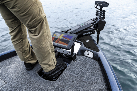 Garmin® enters the freshwater trolling motor market with Force, unveils the industry's most powerful, most efficient trolling motor (Photo: Business Wire)