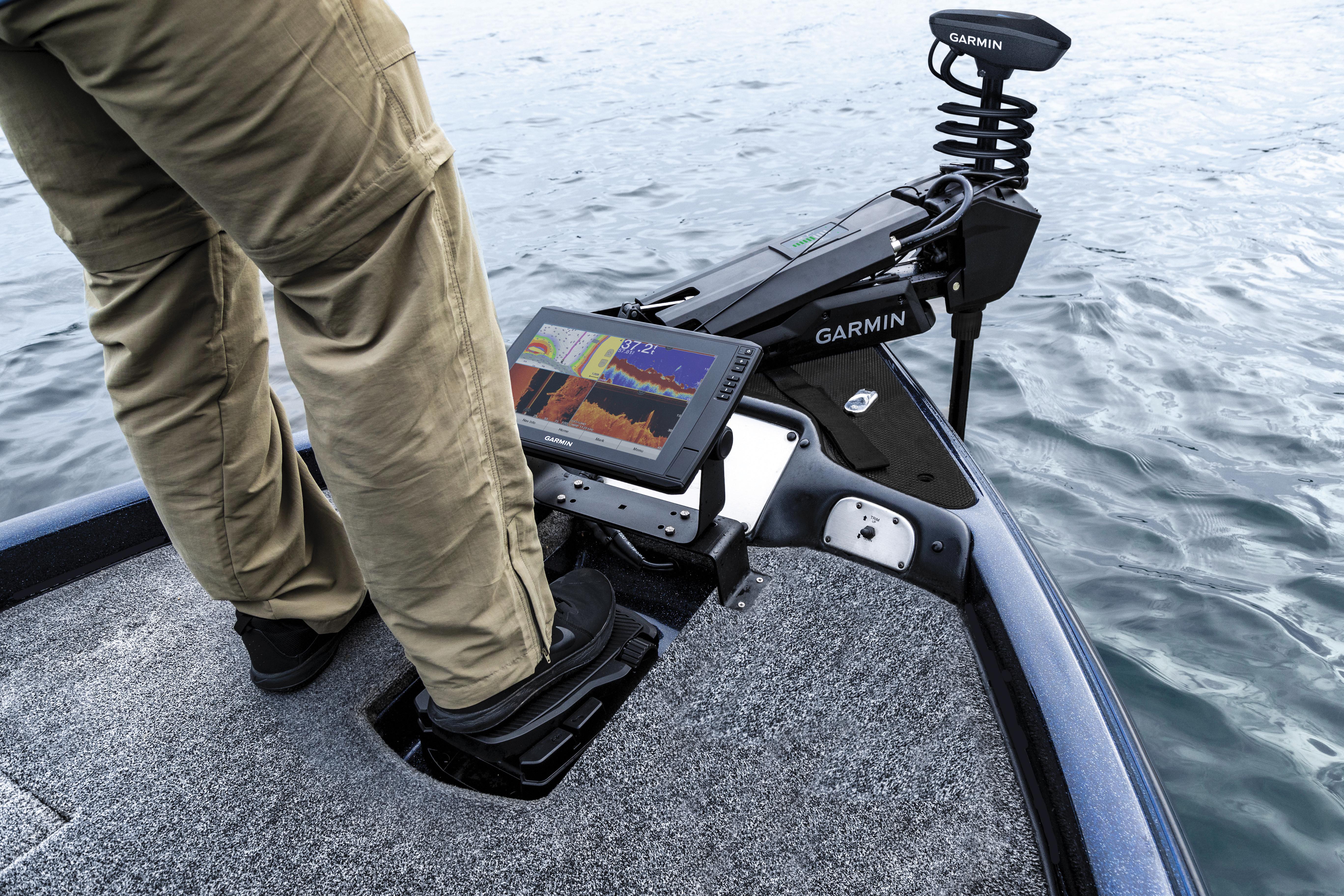Garmin® enters the freshwater trolling motor market with