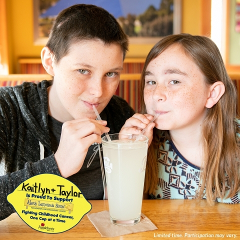 Applebee's® Teams Up with Alex's Lemonade Stand Foundation to Raise Funds for Pediatric Cancer Research (Photo: Business Wire)