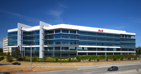 8x8 has signed a multi-year lease for a new headquarters building in Campbell, Calif. (Photo: Business Wire)