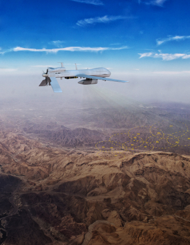 CHIMERA provides a reconfigurable hardware platform for machine learning algorithm developers to make sense of radio frequency signals in increasingly crowded electromagnetic spectrum environments. (Photo: BAE Systems)