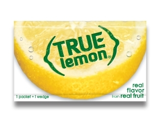 True Lemon 0.8 g Packet (Graphic: Business Wire)