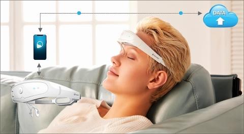 The Relivion™ non-invasive, adaptive digital treatment for migraine. (Photo: Neurolief Ltd.)