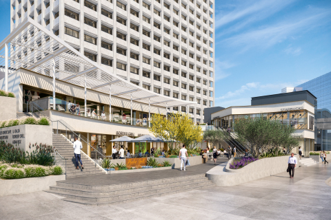 Union Bank Retail Plaza (Photo: Business Wire)
