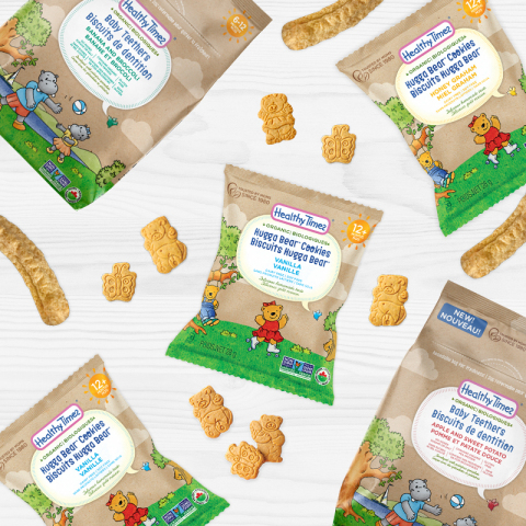 Healthy Times disrupts baby teether category and expands distribution in Canada (Photo: Business Wire)
