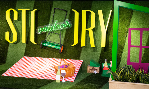 STORY at Macy's presents Outdoor! Bringing the outdoors indoors with DICK'S Sporting Goods and Miracle-Gro?