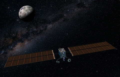 Maxar has signed an agreement to team with Huntsville, Alabama-based Dynetics on the power and propulsion element for the NASA-led Gateway. Image: Maxar