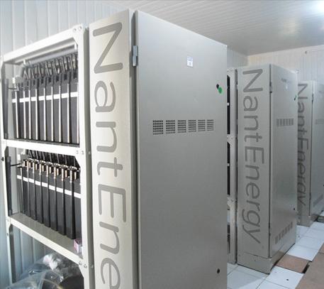 NantEnergy Energy Storage System (Photo: Business Wire)